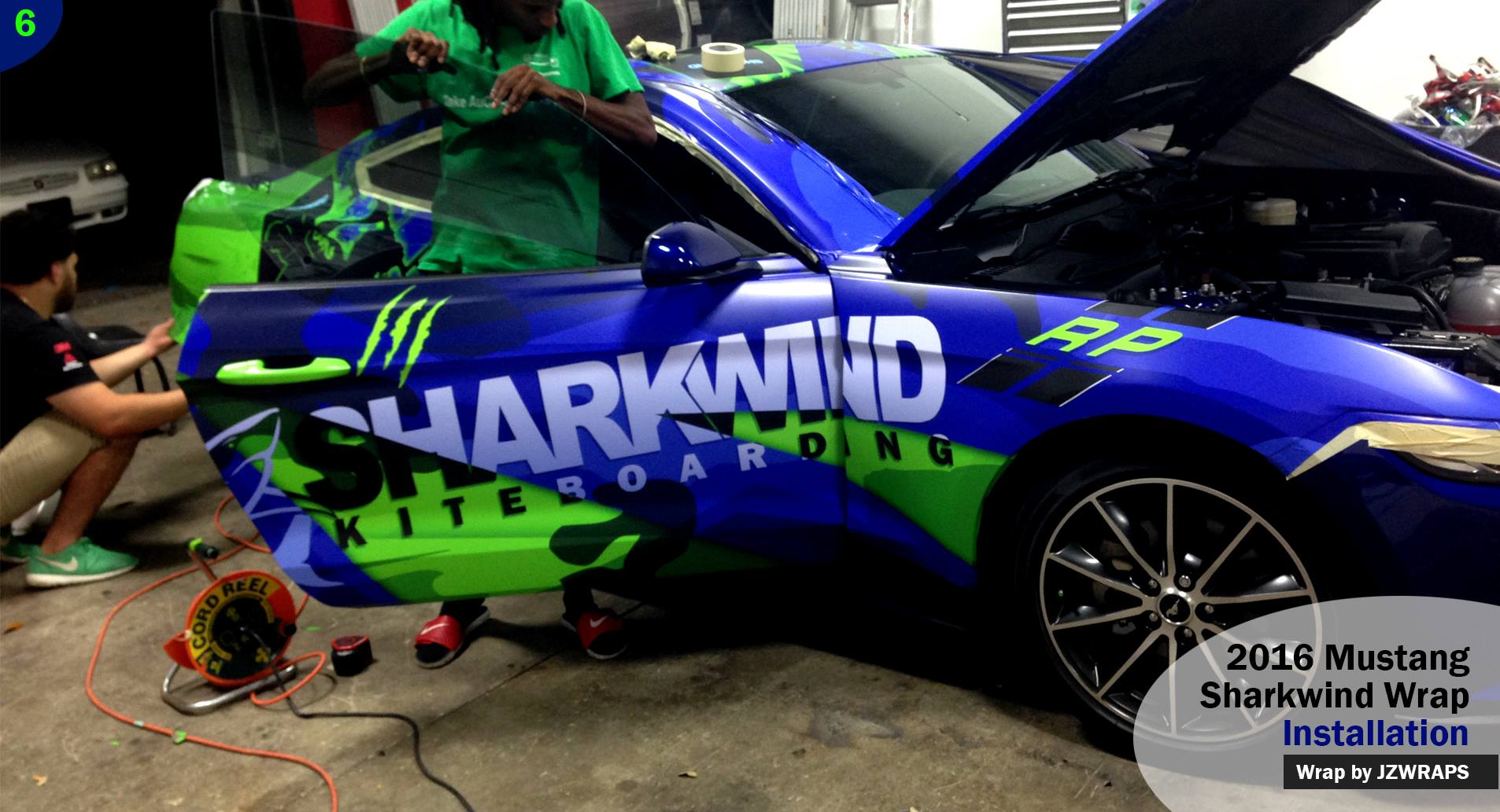 Sharkwind 2016 Mustang Wrap