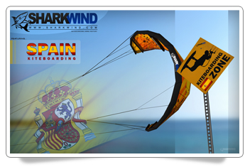 Spain Kitesurfing HD Desktop Wallpaper