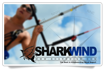 Sharkwind Kiteboarder Beach HD Wallpaper